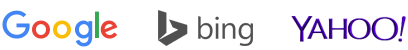 google bing yahoo logo